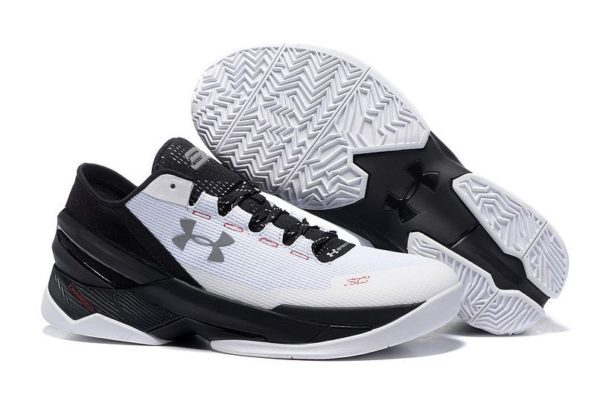 Under Armour Stephen Curry 2 Low белые с черным (40-45)