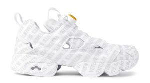 Vetements x Reebok InstaPump Fury Emoji белые (35-39)