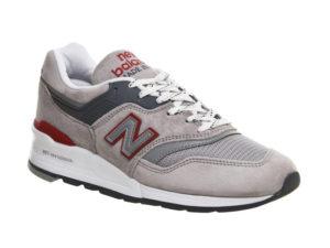 Кроссовки New Balance 997 бежевые с серым (35-44)