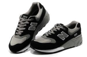 Кроссовки New Balance 999 черные с серым (36-44)