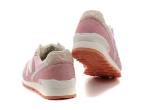 Кроссовки New Balance 996 розовые с белым (35-39)