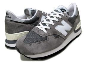 Кроссовки New Balance 990 gray серые (39-44)