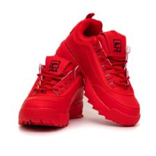Fila Disruptor 2 red красные (35-39)