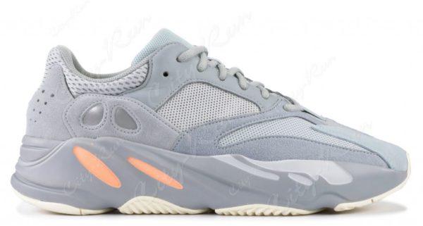 Замшевые мужские синие кроссовки