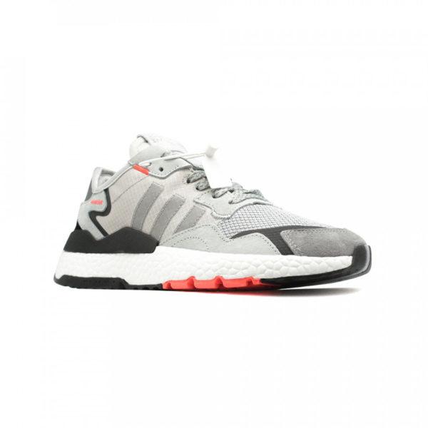 Adidas Nite Jogger серые с черным (40-44)