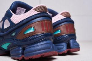 Кроссовки Adidas Raf Simons синие розовые 35-39