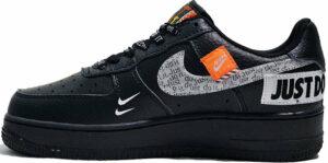 Кроссовки Nike Air Force х OFF White чёрные (35-44)