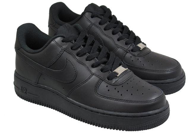 Nike Air Force  черные (40-44)