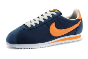 Nike Cortez синие-белые-оранжевые  (39-43)