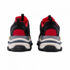 Balenciaga Triple S red/black  мужские (40-44)