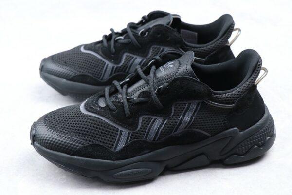 Замшевые мужские черные кроссовки