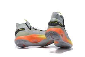Under Armour Curry 6 серые-оранжевые (40-45)