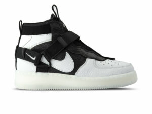 Nike Air Force 1  Utility Mid белые/чёрные (40-44)
