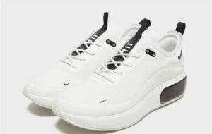 NIKE AIR MAX DIA  белые с черным (35-39)