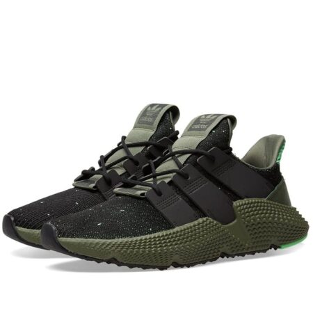Adidas Prophere черные с зеленым (40-44)