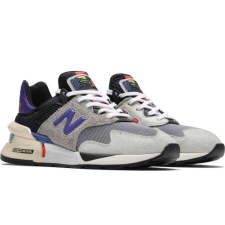 New Balance 997 серые с фиолетовым (35-44)