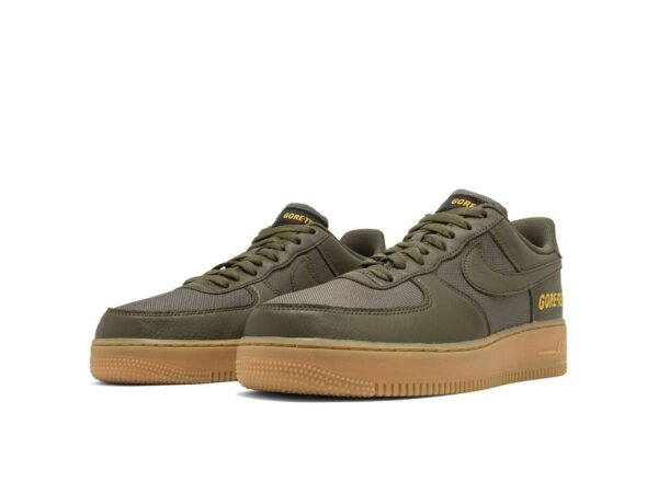 Nike Air Force 1 Low Gore-Tex зеленые (40-44)