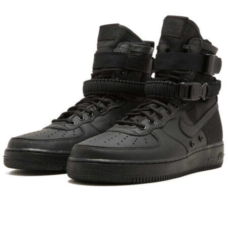 Nike Air Force 1 SF Mid черные (40-44)