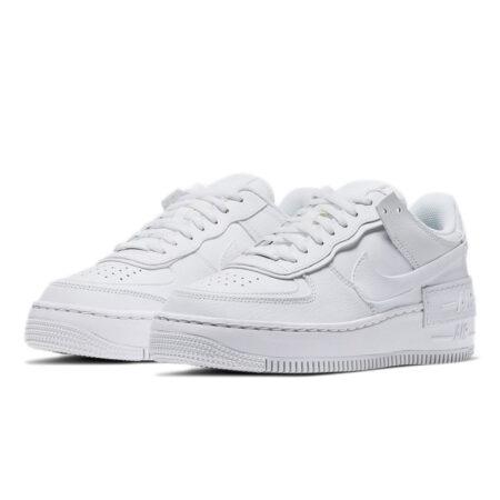 Nike Air Force 1 Shadow белые (35-44)