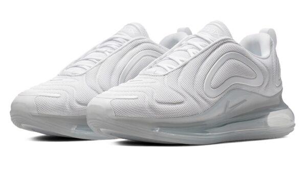 Nike Air Max 720 белые (35-39)
