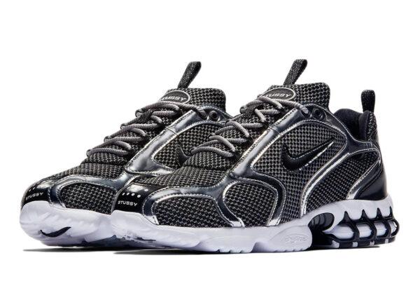Nike Air Zoom Spiridon Caged 2 черно-белые (35-44)