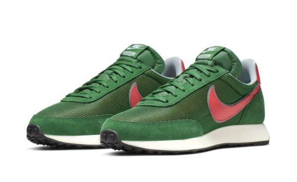 Nike Tailwind зеленые с оранжевым (40-44)