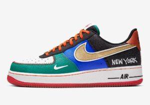 Nike Air Force 1 New York разноцветные (39-43)