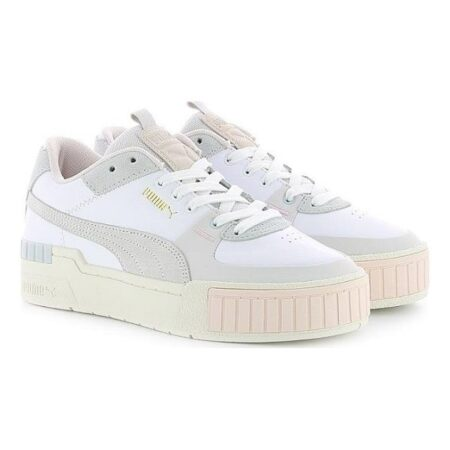 Puma Cali Sport Mix WN'S бело-серые 35-39