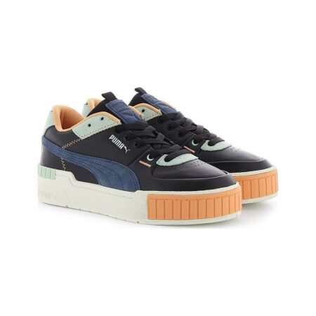 Синие замшевые кроссовки