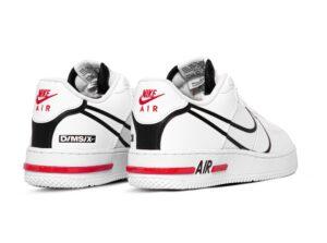 "Nike Air Force 1 React GS ""D/MS/X"" белые (40-44)"